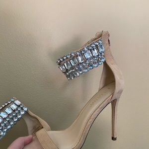 Shoes - Bling heels size 8.5 7/$20